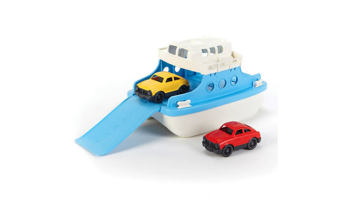 Recycled Plastic Ferry Boat and Cars Green Toys Small Stuff UK