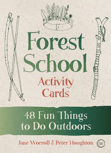 Forest School Activity Cards - 48 Fun Things To Do Outdoors