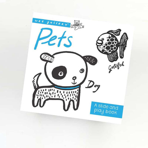 Pets - A Slide and Play book Wee Gallery Small Stuff UK