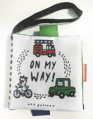 On My Way Buggy Book Wee Gallery Small Stuff UK