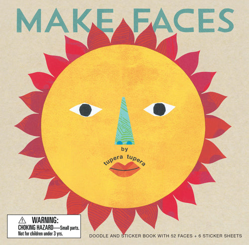 Make Faces Sticker and Activity Book