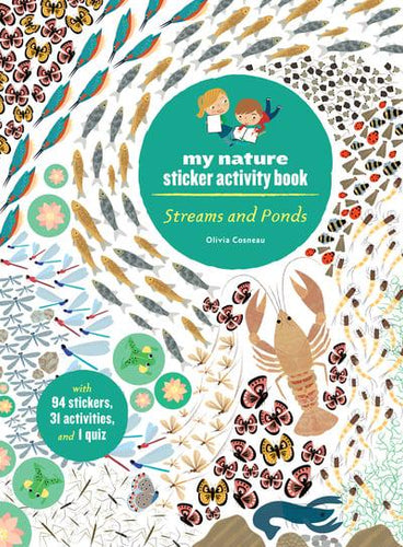Streams and Ponds: My Nature Activity Sticker Book