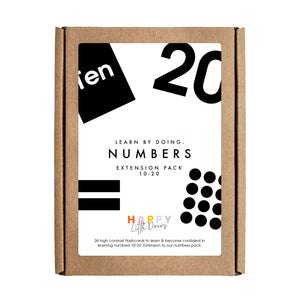 Numbers Flashcards Extension Pack (10-20)