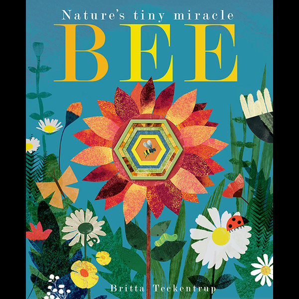 Natures Tiny Miracle Bee Britta Teckentrup Small Stuff UK