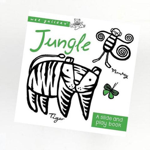 Jungle: A Slide and Play Book Wee Gallery Small Stuff UK