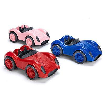 Recycled Plastic Racing Car Green Toys Small Stuff UK