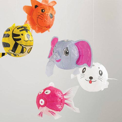 Japanese Paper Balloons Animals Petra Boase Small Stuff UK