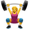 🏋♀.ws Woman Weightlifter
