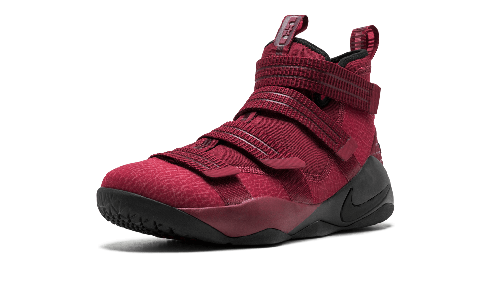new product a617f 2aa72 Nike Lebron Soldier 11 SFG TEAM RED/BLACK-WHITE