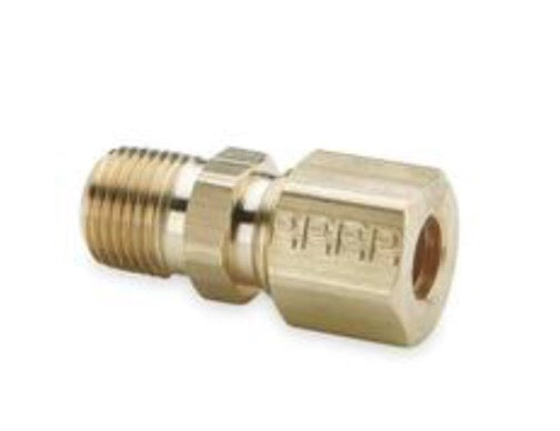 Meth Injection Male Staight Solenoid compression fitting