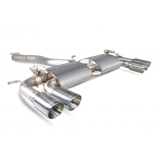 Scorpion Cat Back Exhaust System MK7 Golf R