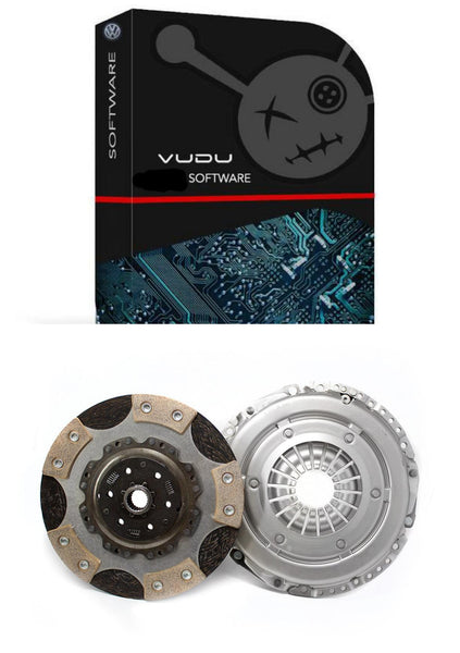 VUDU Stage 1 and RTS twin friction clutch kit fitted