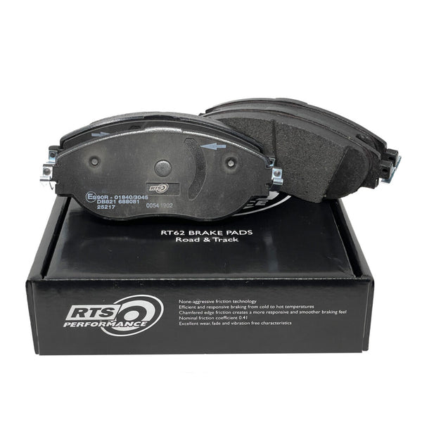 RTS RT62 Performance Brake Pads. MK7 Golf R, Audi S3 8v, Leon Cupra