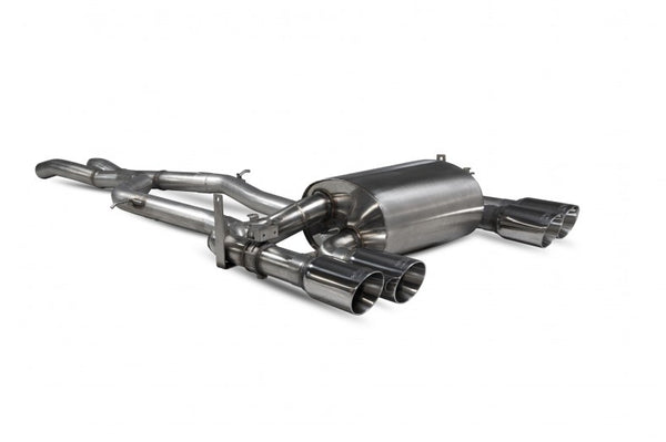 Scorpion non-res cat back exhaust system M3 M4