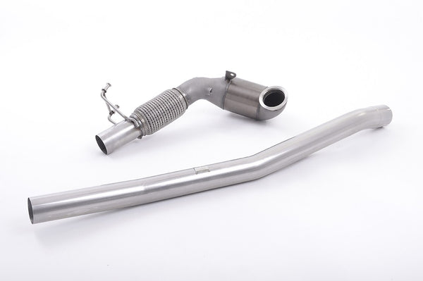 MK7/MK7.5 Golf R Cast Downpipe with 200cell Race Cat