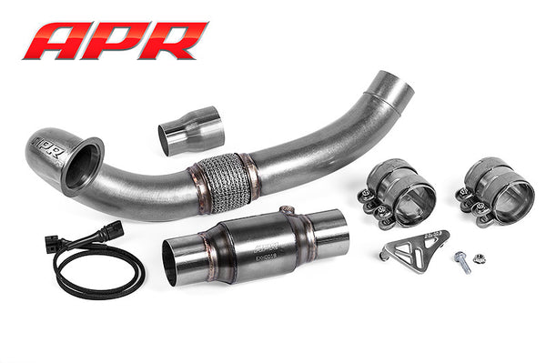 APR Cast Downpipe & Sports CAT - Audi S3 8V