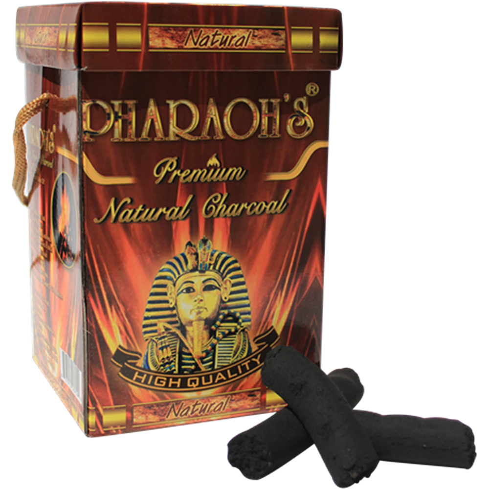 Natural Wood Charcoal - Pharaohs Hookahs