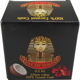 Pharaohs Coconut Cube Charcoal - 22mm - 0.5kg - Pharaohs Hookahs