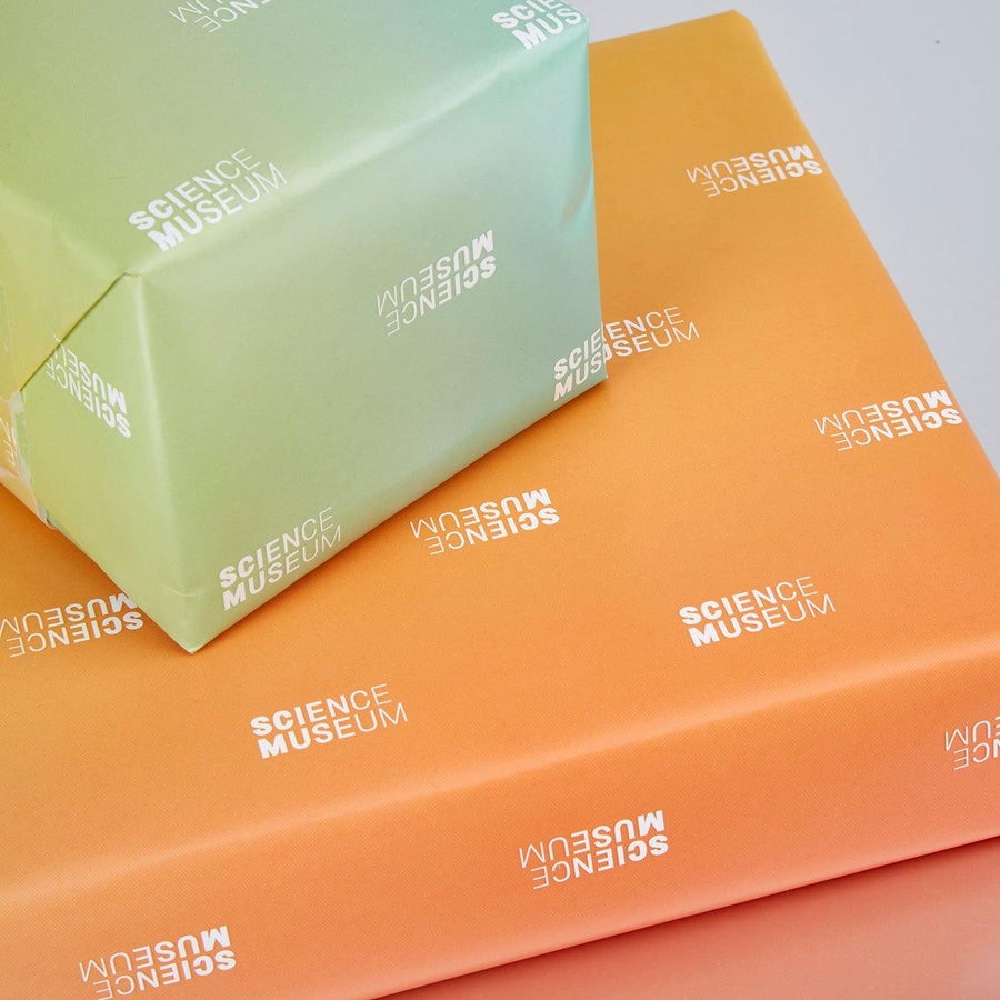 Science Museum gift wrap