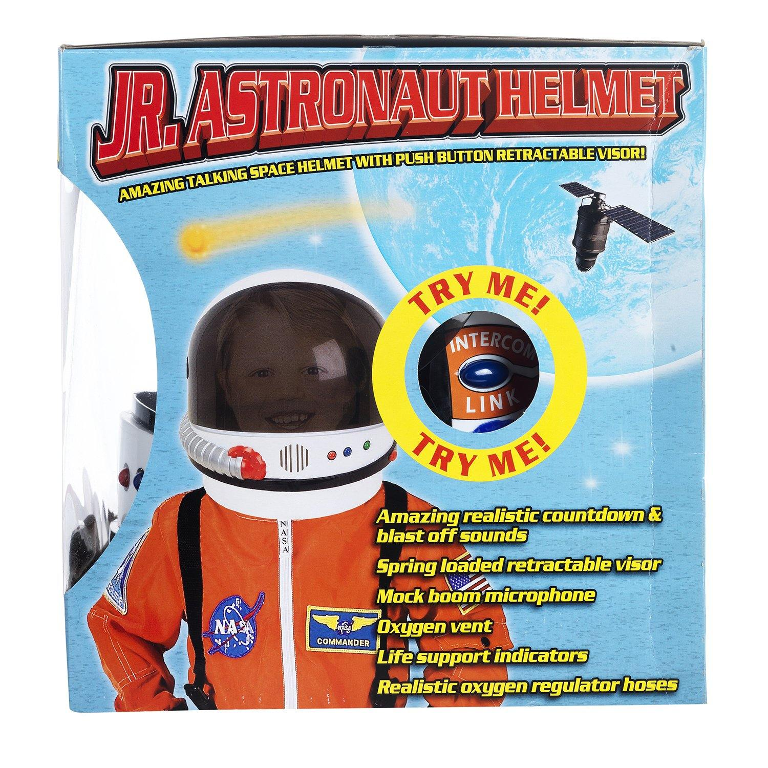 Junior astronaut helmet box