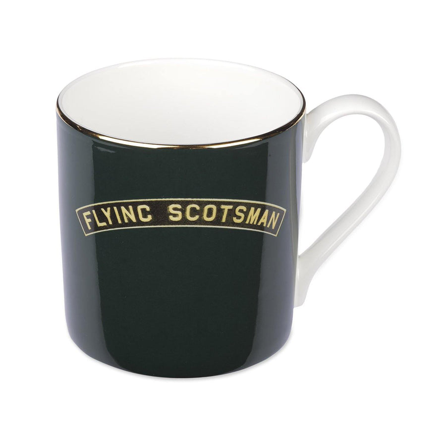 Fine Bone China Flying Scotsman Mug