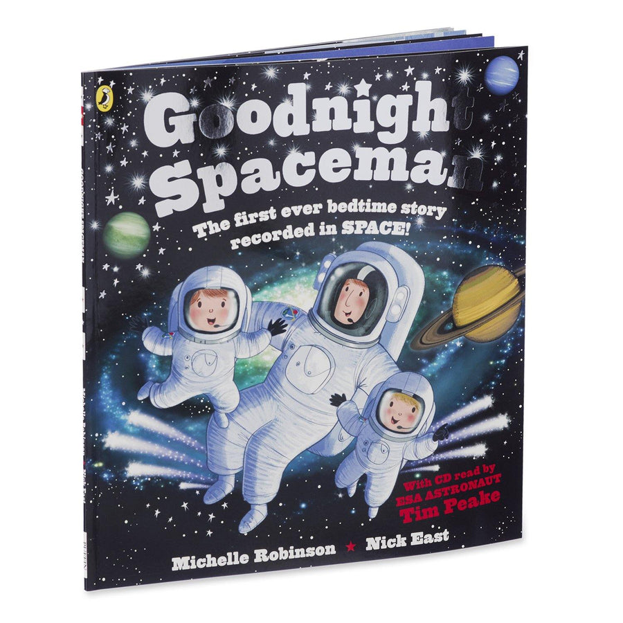 Goodnight Spaceman Book with CD