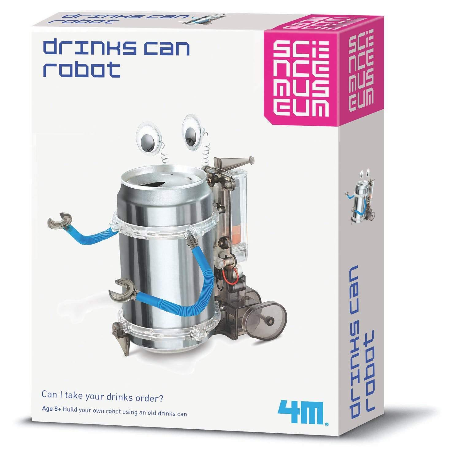 Science Museum Drinks Can Robot Kit