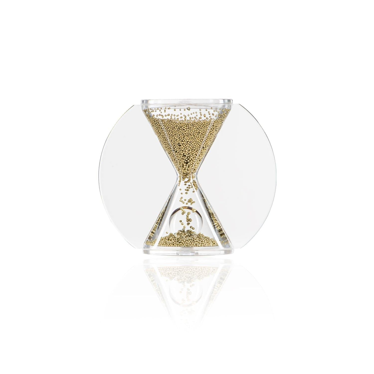 Gold Heavy Metals Hourglass Timer