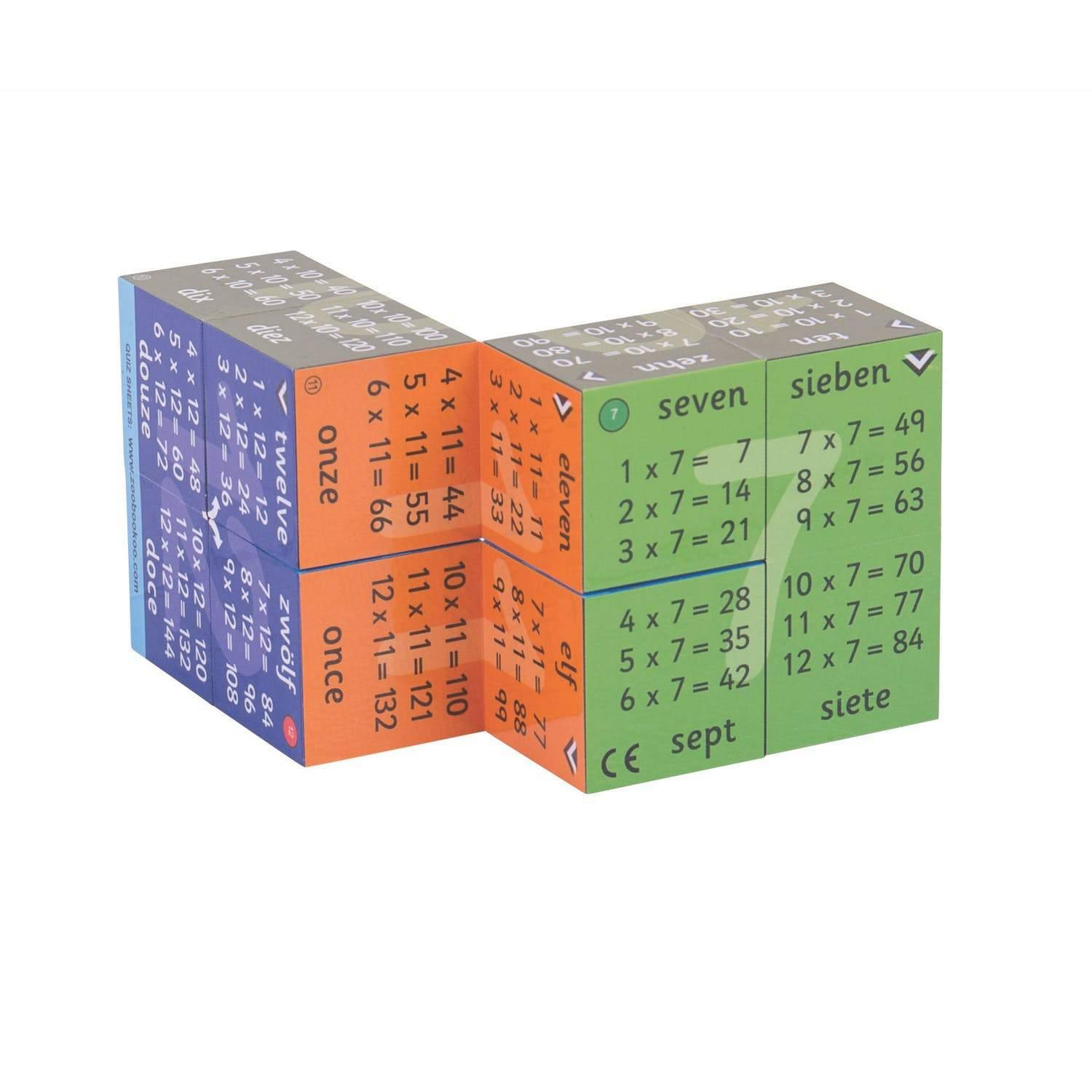 Multiplication Tables Game Cube-2