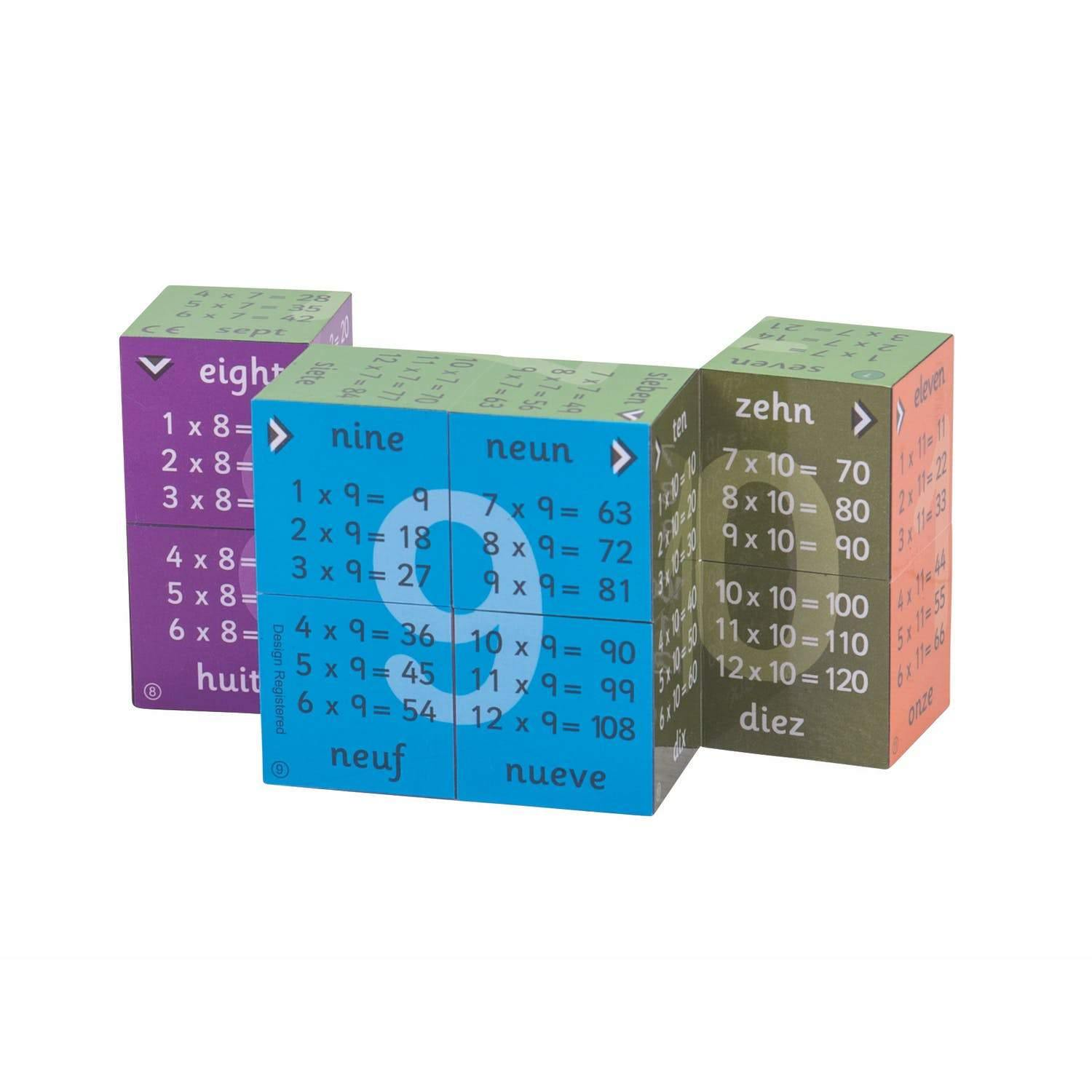 Multiplication Tables Game Cube-3