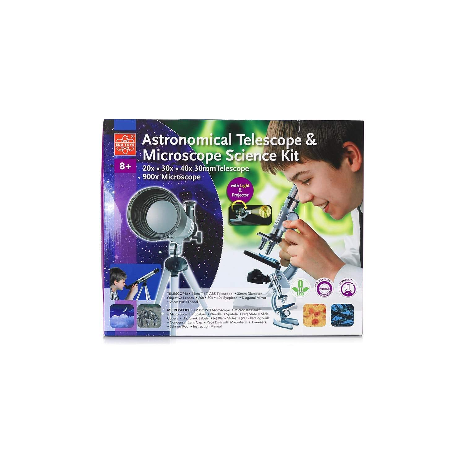 Astronomical Telescope and Microscope Science Kit-2