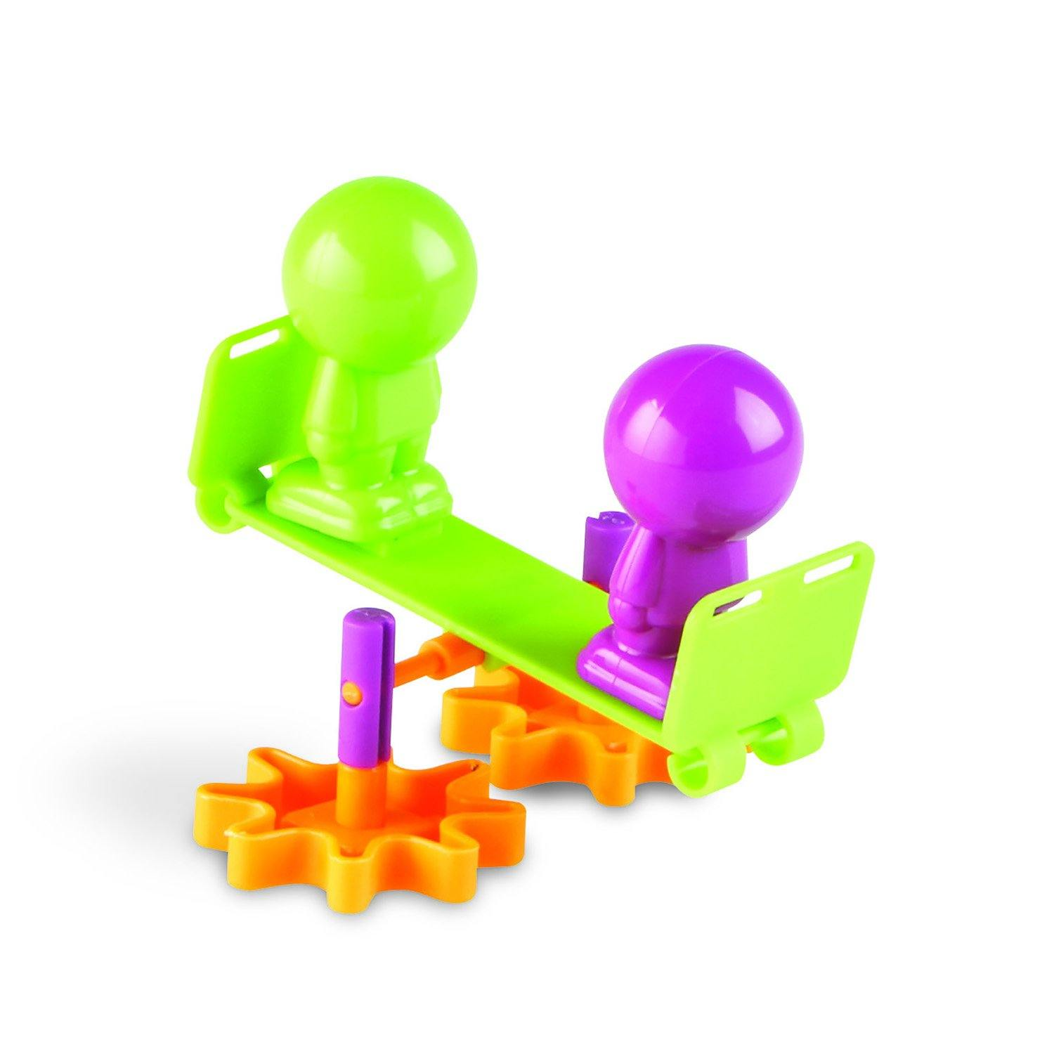 Toy seesaw set