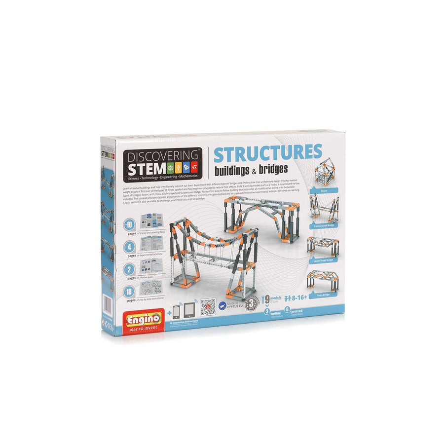 Structures: Building and Bridges Kit