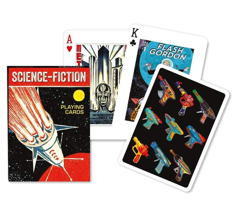 Science Fiction Playing Cards