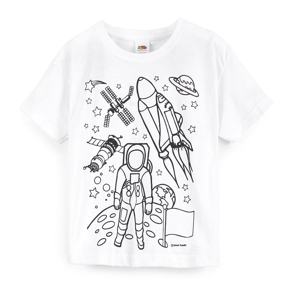Science Museum Children's Colour in Space T-shirt - Clothing - Science Museum Shop