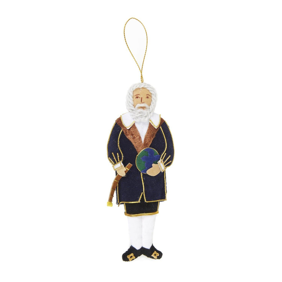 Embroidered Galileo Decoration