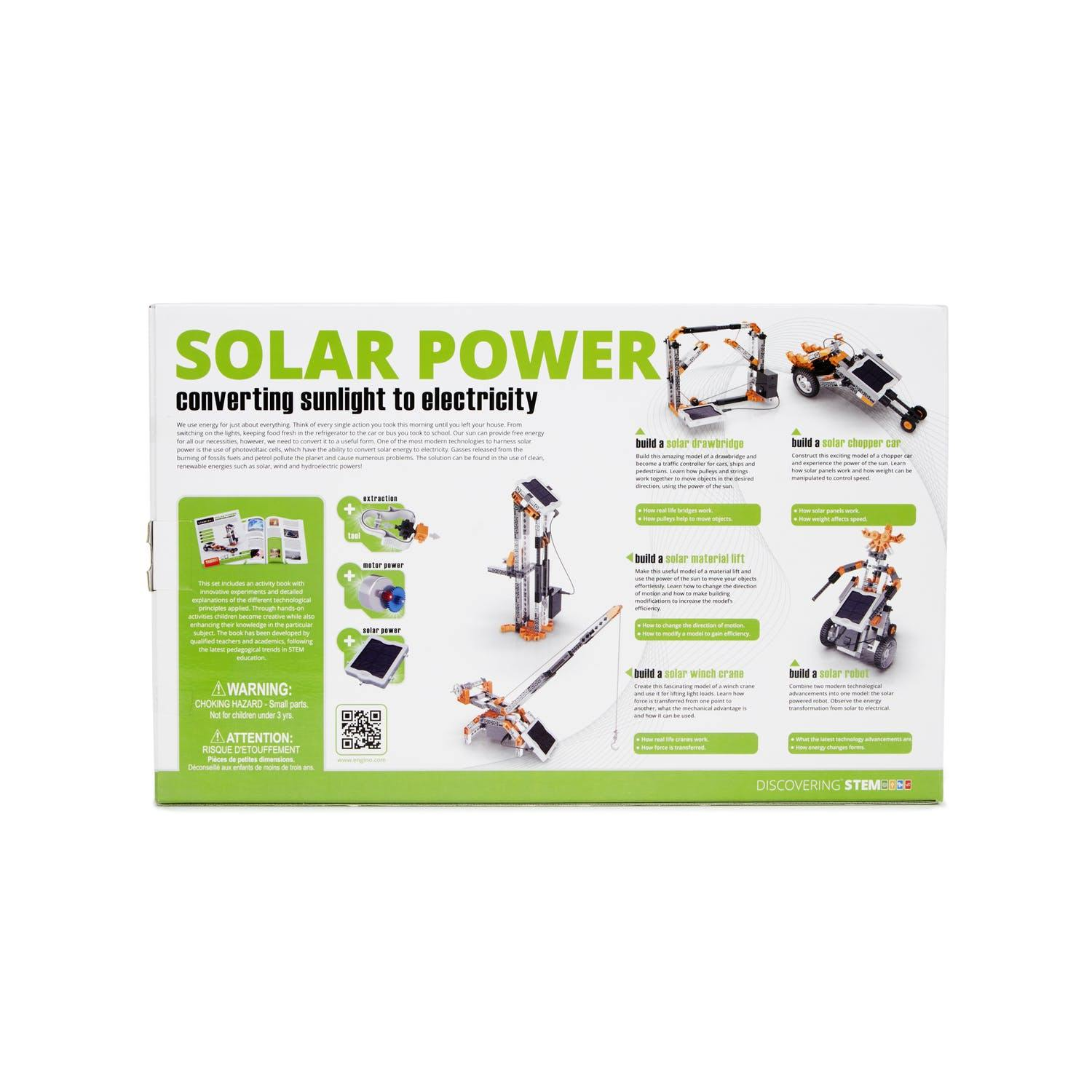 Solar Power STEM Kit