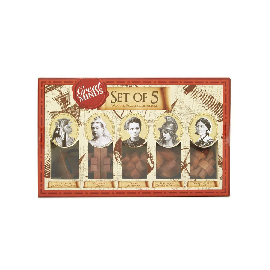 Women Great Minds Puzzle Pack