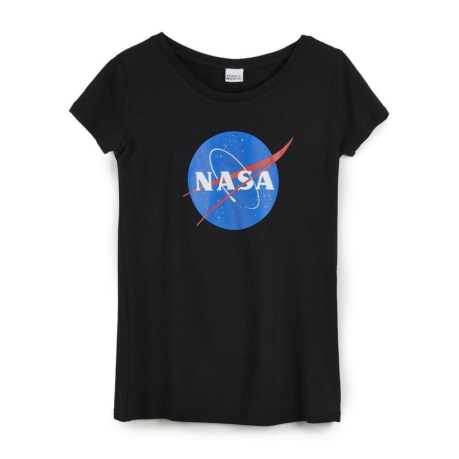 Science Museum NASA Meatball Black Women's T-shirt - Clothing - Science Museum Shop
