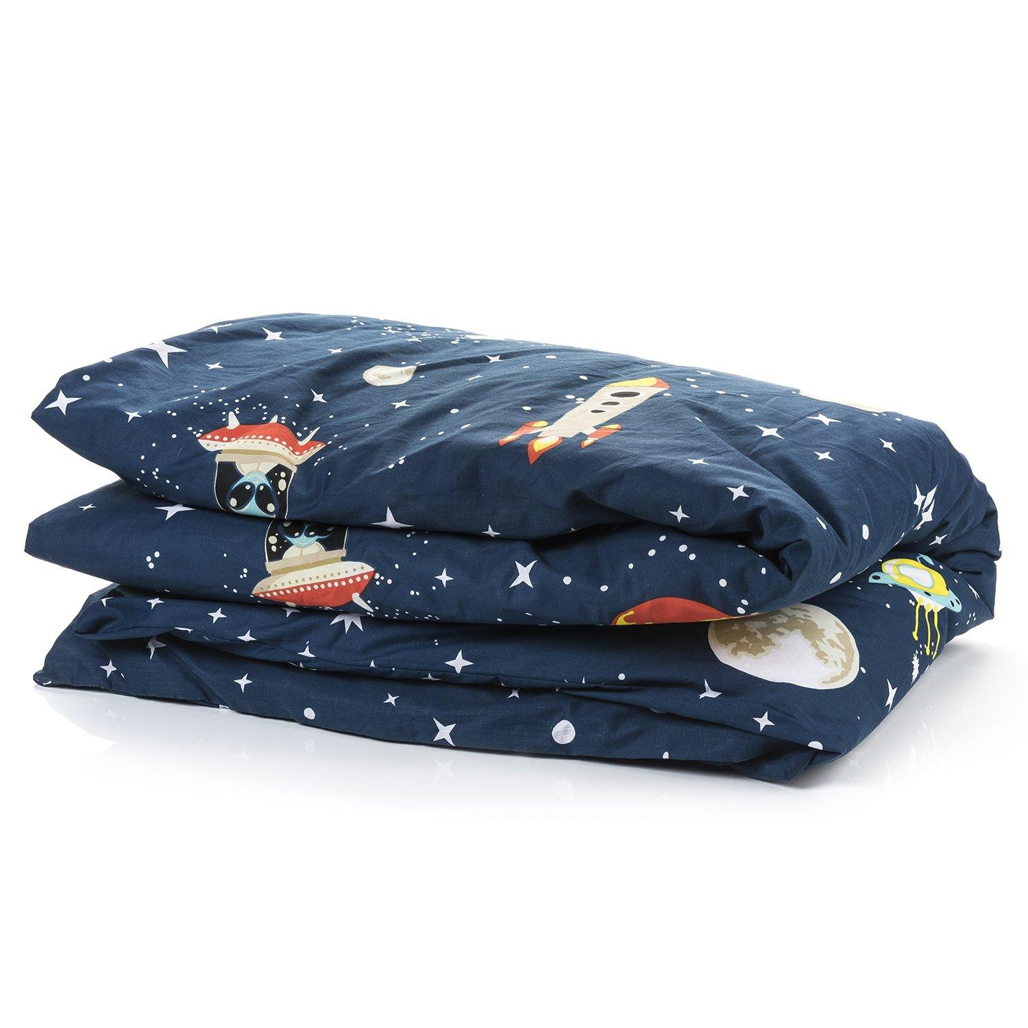 Folded space duvet