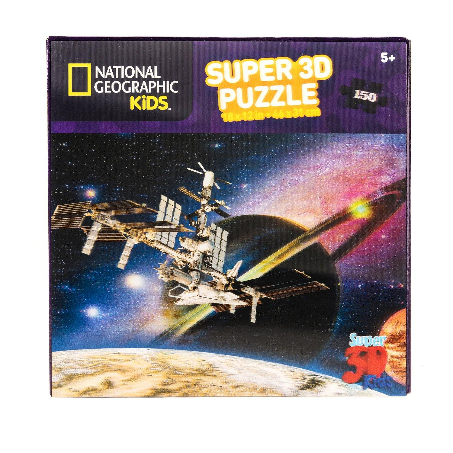 National Geographic 3D Space Satellite Jigsaw Puzzle3