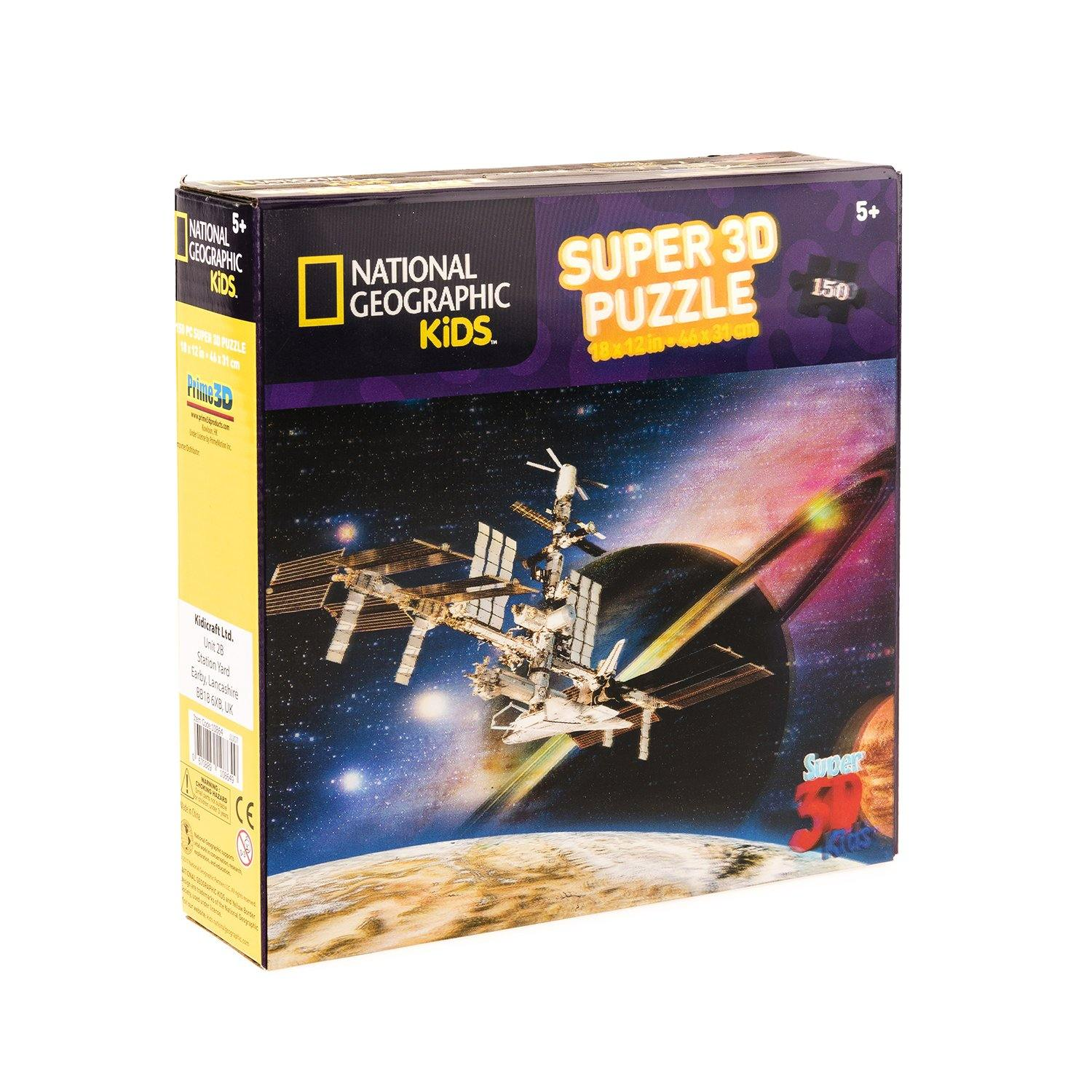 National Geographic 3D Space Satellite Jigsaw Puzzle