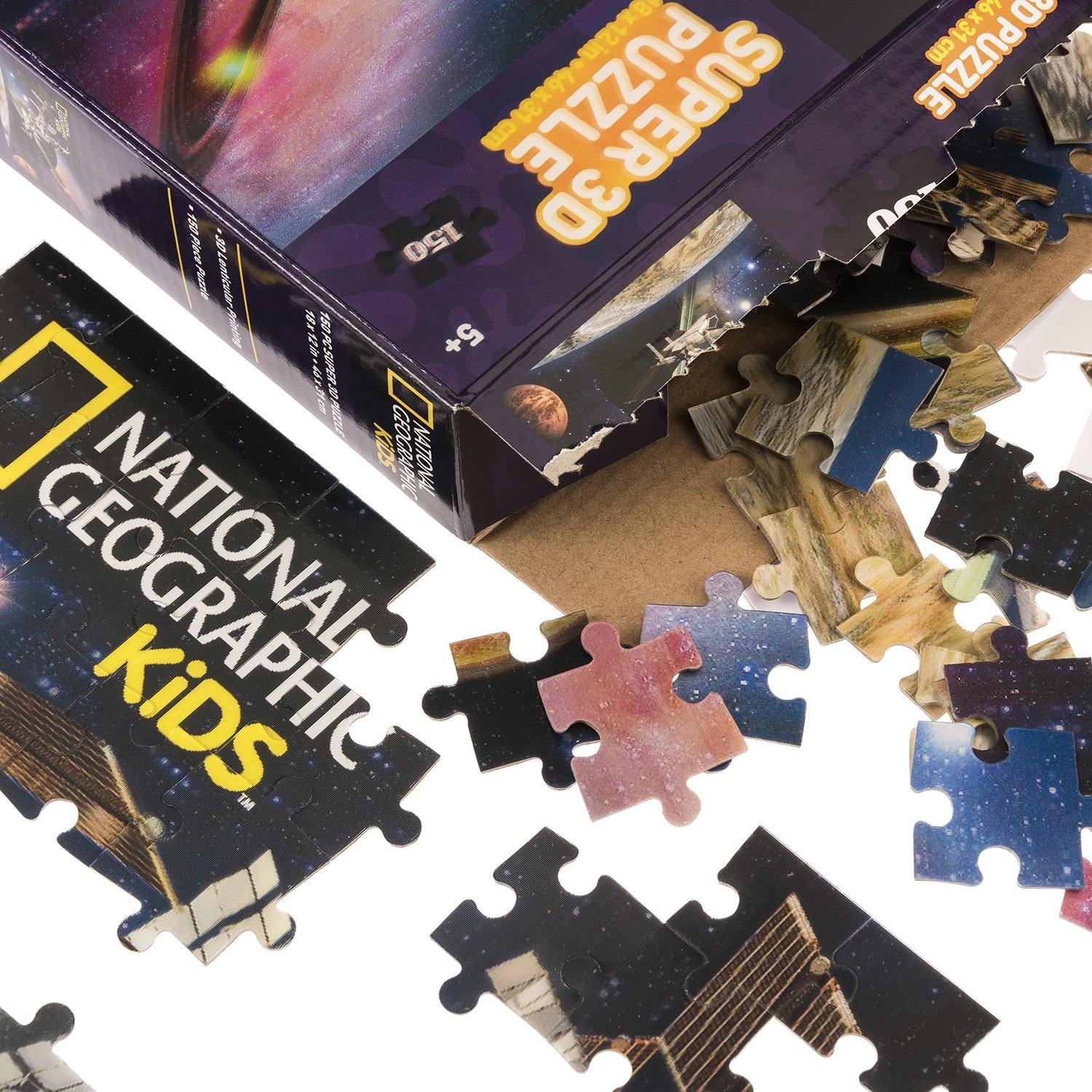National Geographic 3D Space Satellite Jigsaw Puzzle2