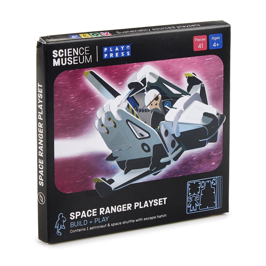 Space ranger playset box