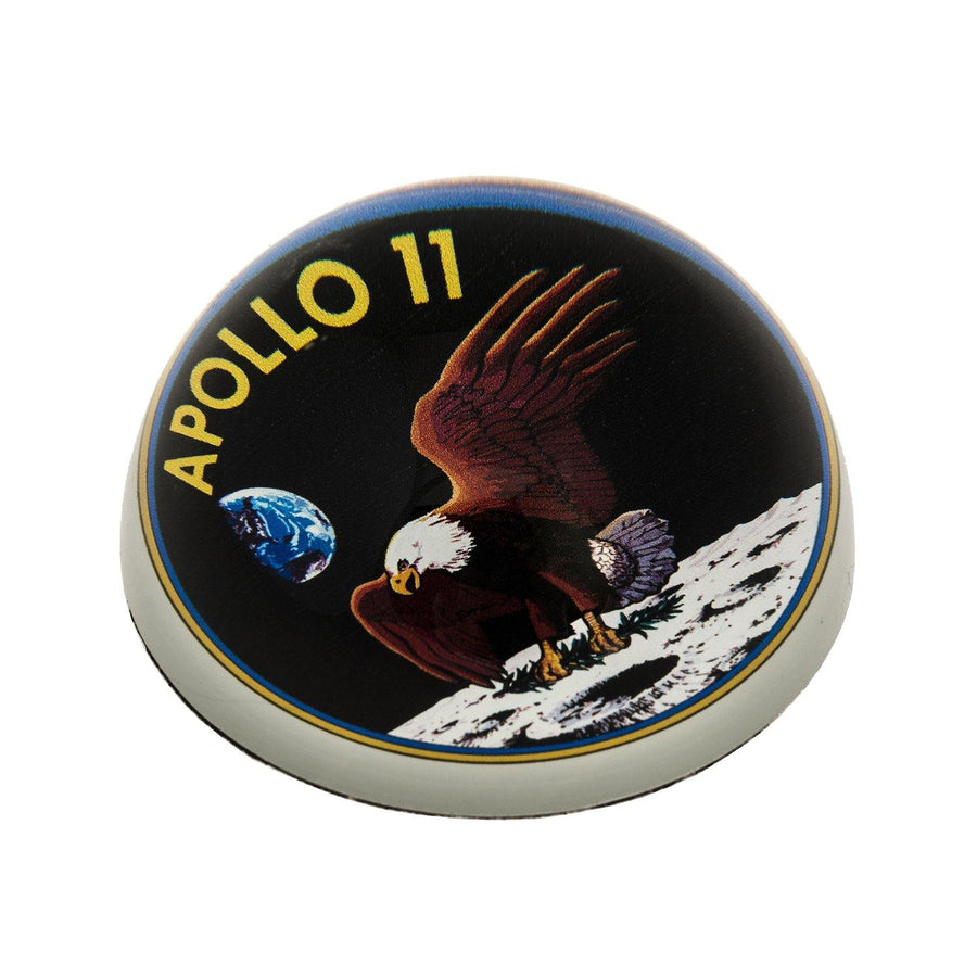 Science Museum Apollo 11 Patch Paperweight