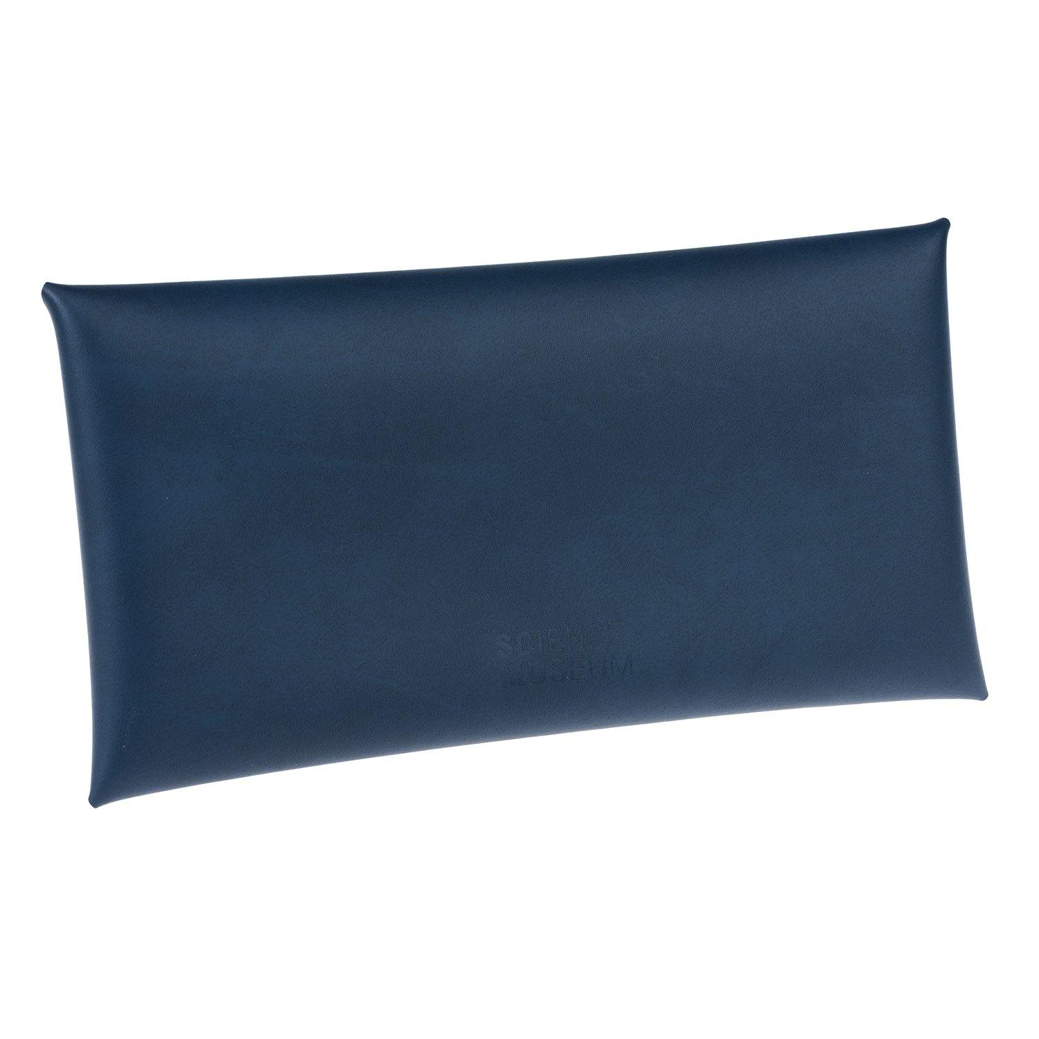 Comisario X Science Museum Leather Pouch Navy3
