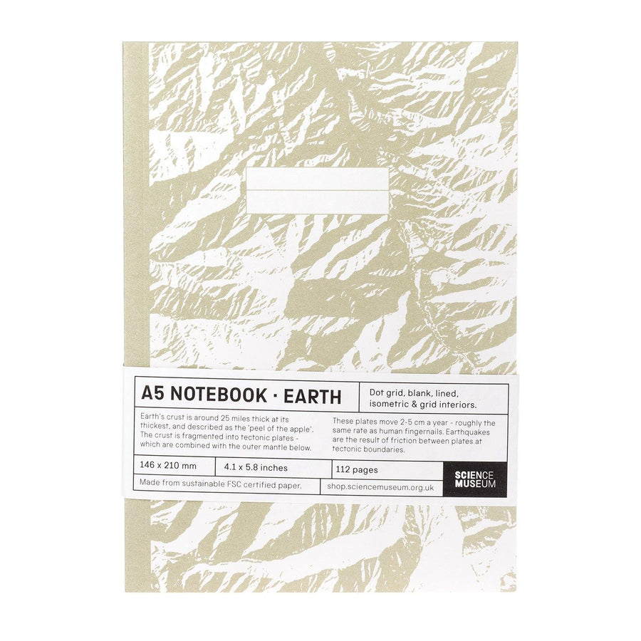 Comisario X Science Museum Earth A5 Notebook