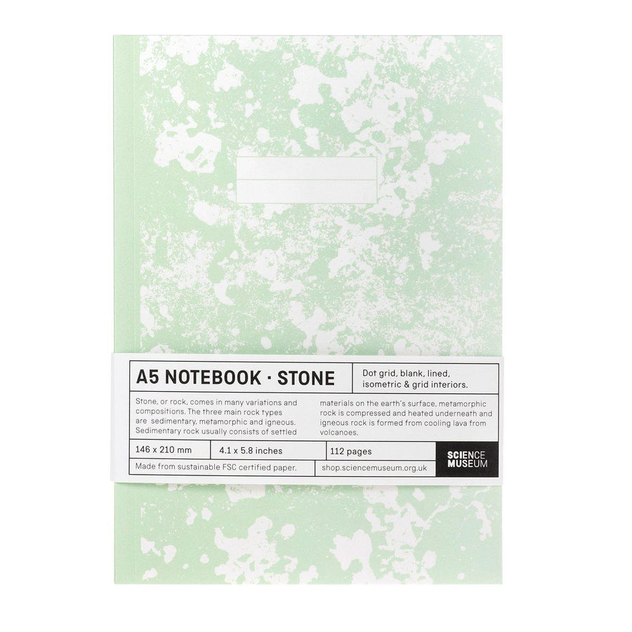Comisario X Science Museum Stone A5 Notebook