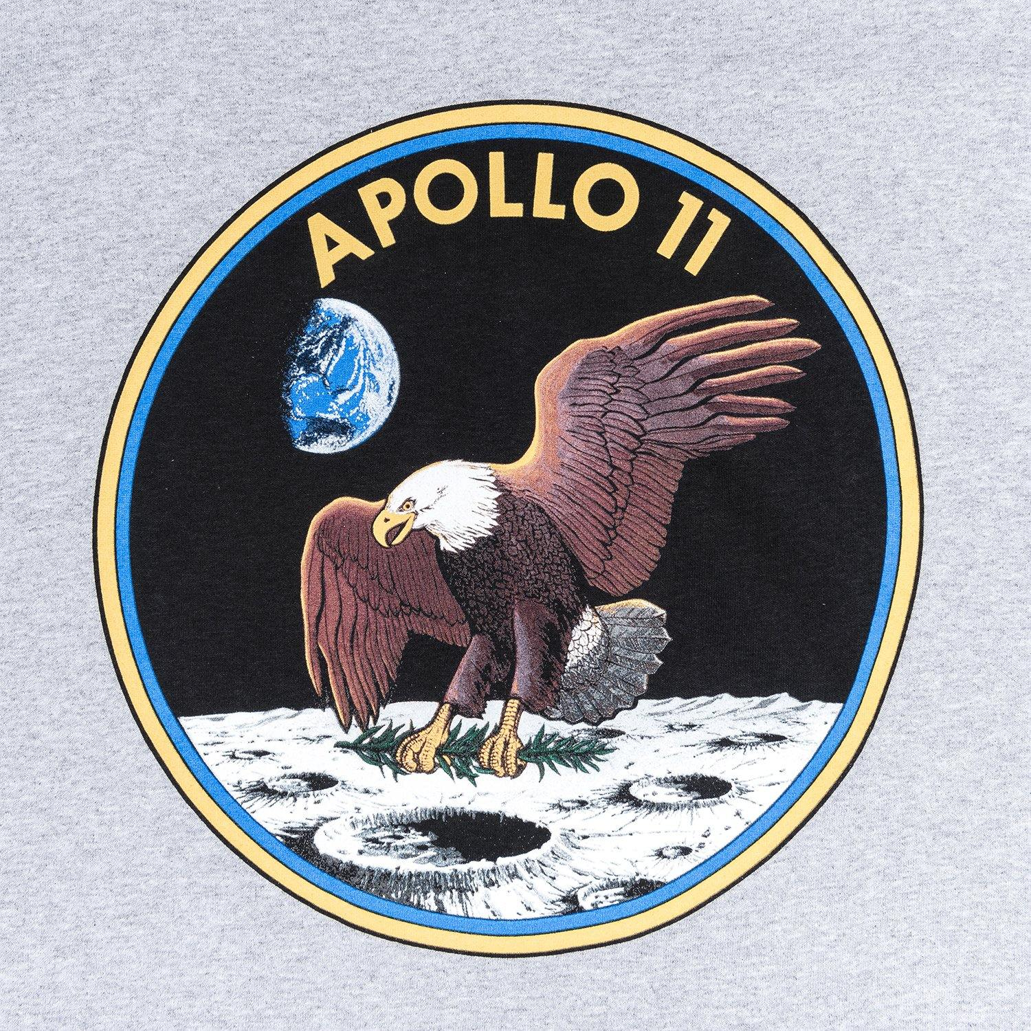 Grey jumper with Apollo 11 eagle design 2