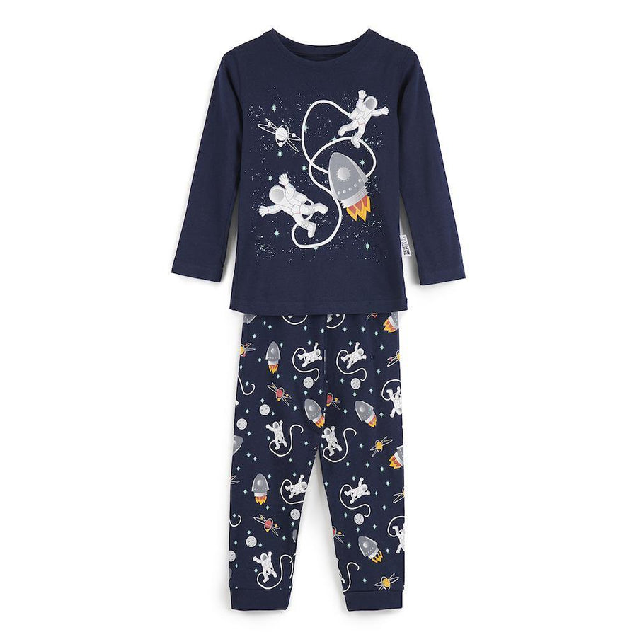 Science Museum Astronaut and Rocket Print Pyjamas - Clothing - Science Museum Shop